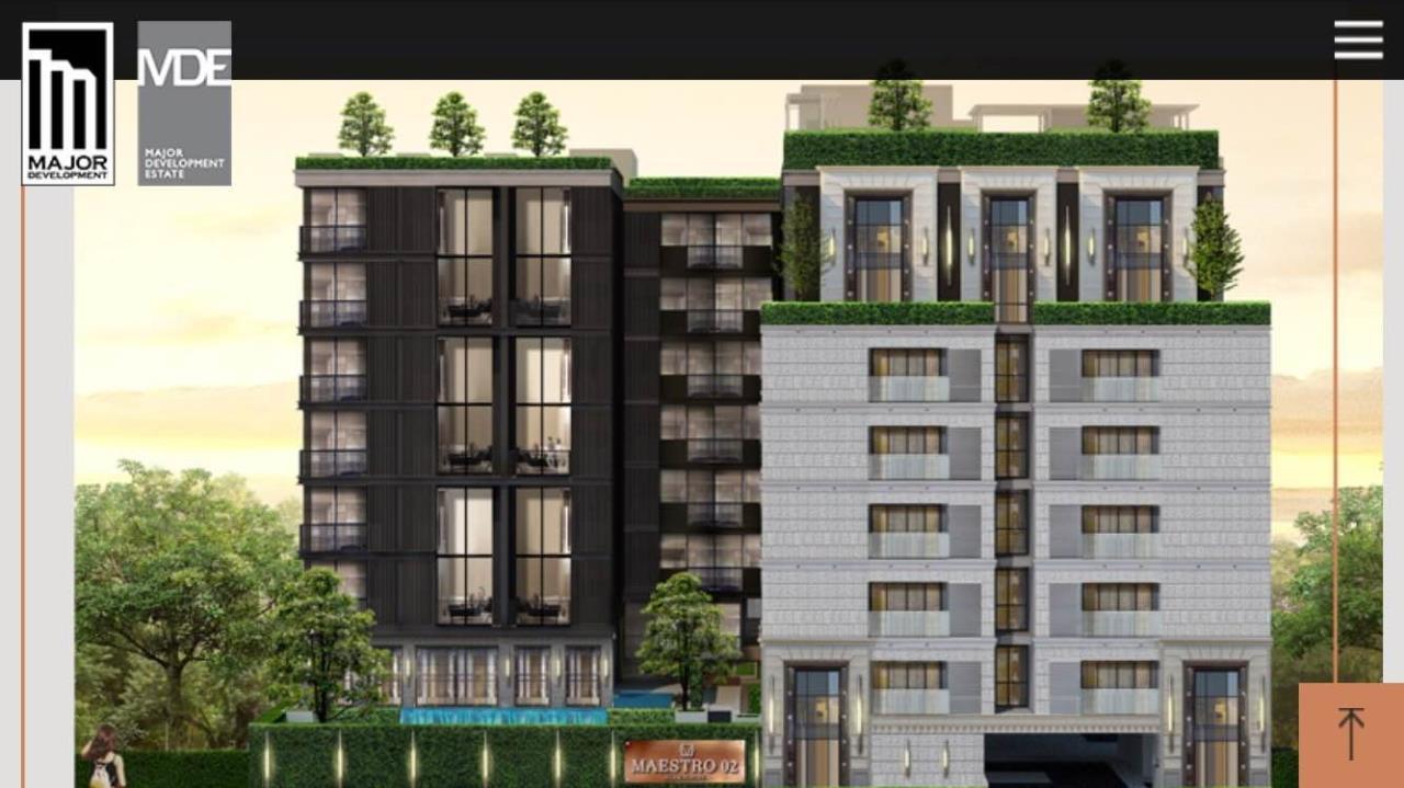 Piri Property Agency's one bedroom Condominium  on 4 floor For Rent 1 4