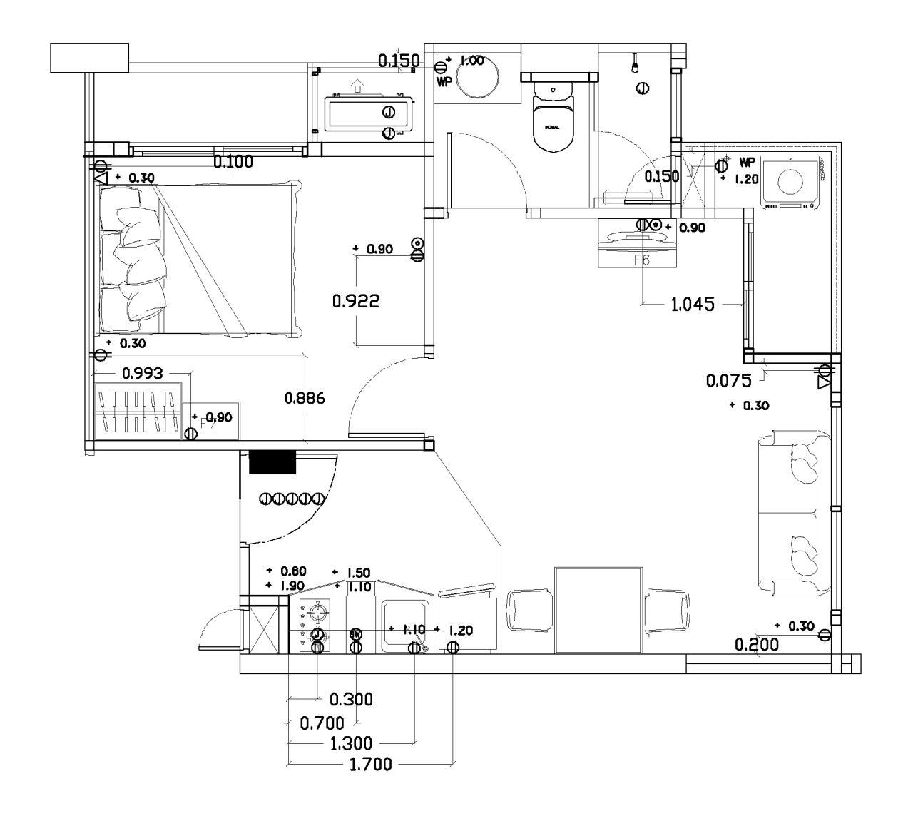 Piri Property Agency's one bedroom Condominium  For Sale 1 12