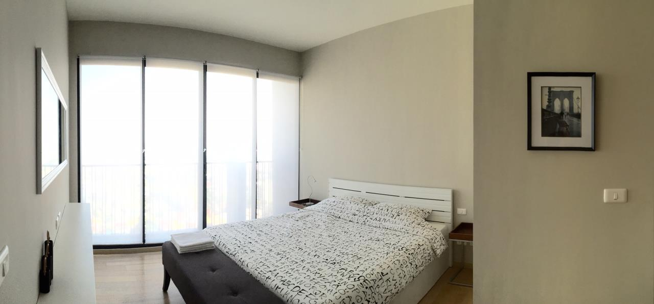 Piri Property Agency's one bedroom Condominium  on top F floor For Rent 1 3