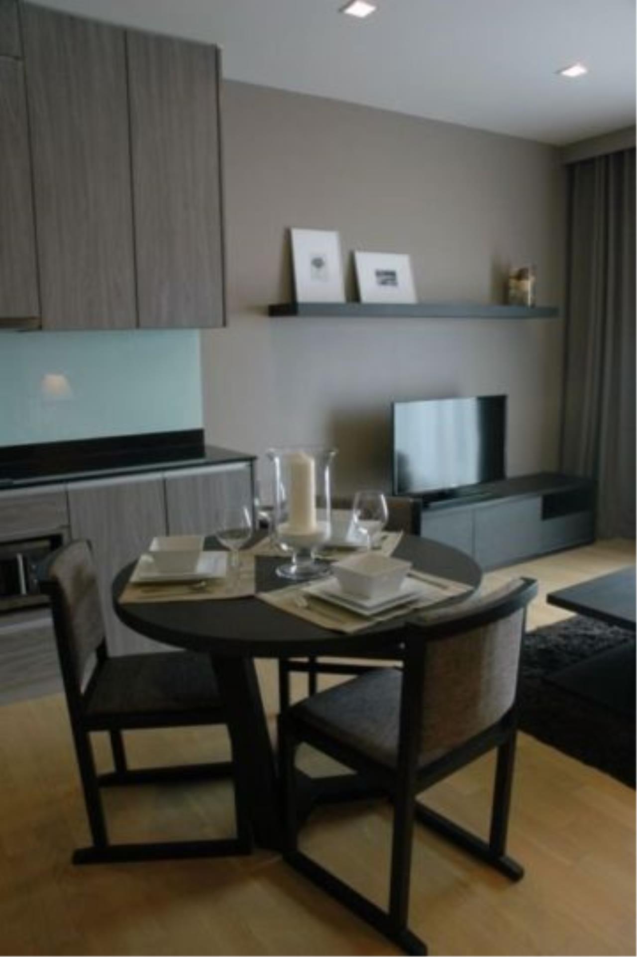 Piri Property Agency's one bedroom Condominium  on 8 floor For Rent 1 2
