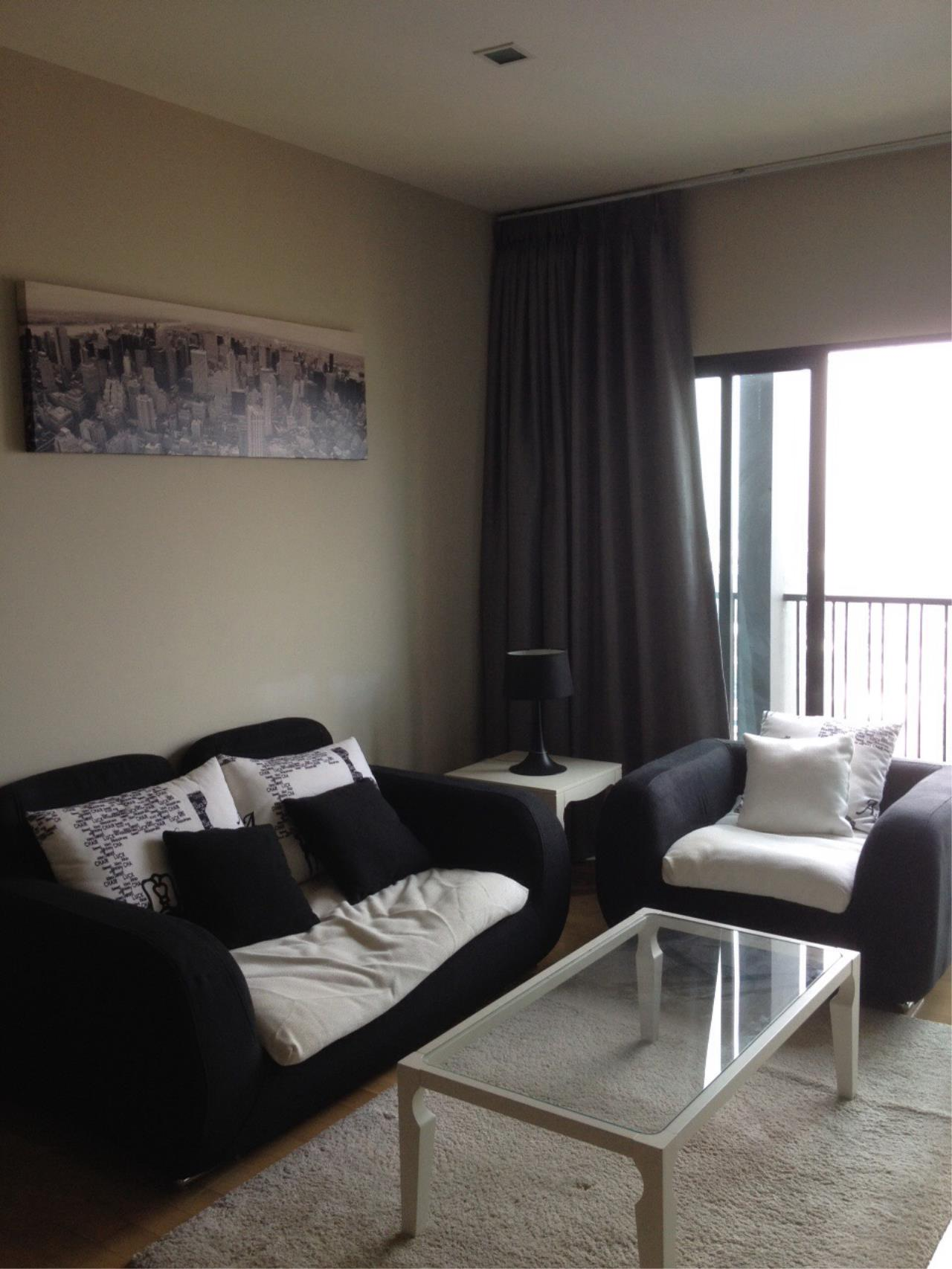 Piri Property Agency's one bedroom Condominium  on 21 floor For Rent 1 4
