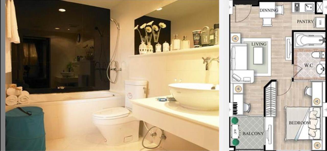Piri Property Agency's one bedroom Condominium  For Rent 1 4