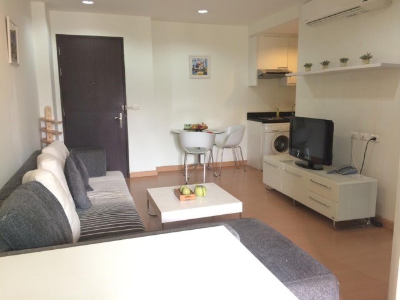 Piri Property Agency's one bedroom Condominium  on 8 (A) floor For Rent 1 2