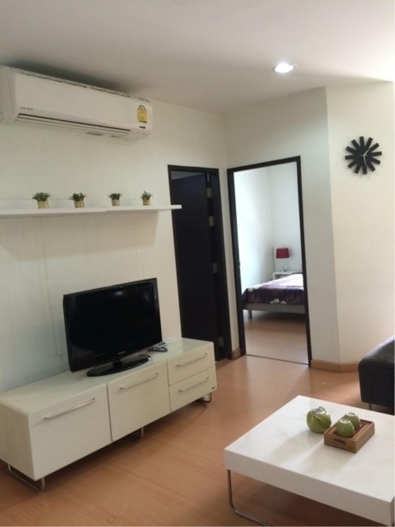 Piri Property Agency's one bedroom Condominium  on 8 (A) floor For Rent 1 5