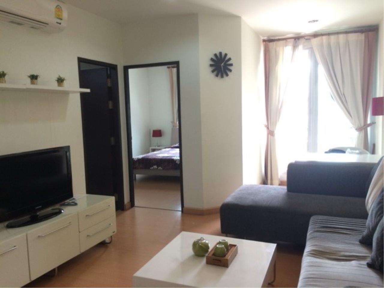 Piri Property Agency's one bedroom Condominium  on 8 (A) floor For Rent 1 6