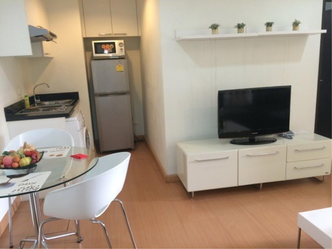 Piri Property Agency's one bedroom Condominium  on 8 (A) floor For Rent 1 8