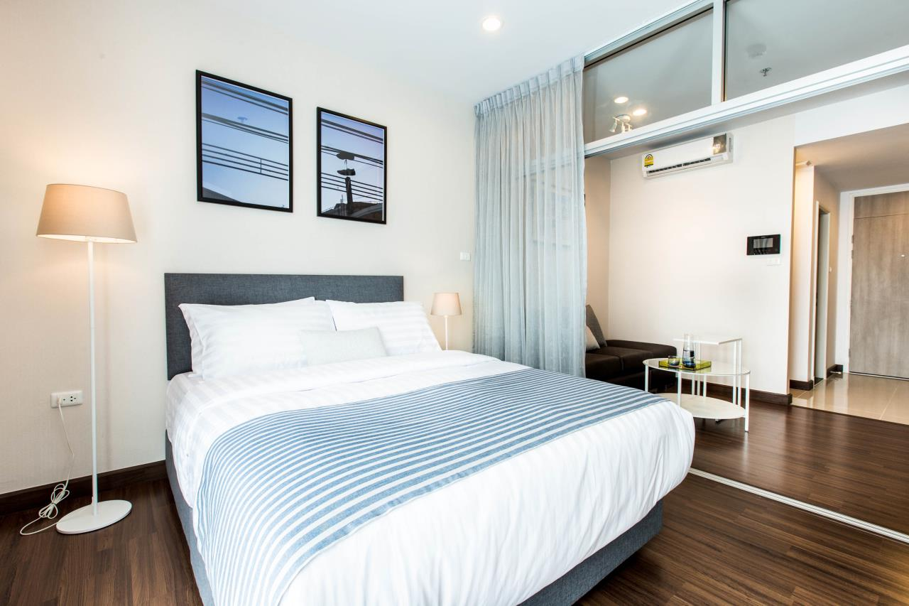 Piri Property Agency's Studio bedrooms Condominium  on 21 floor For Rent Studio 5