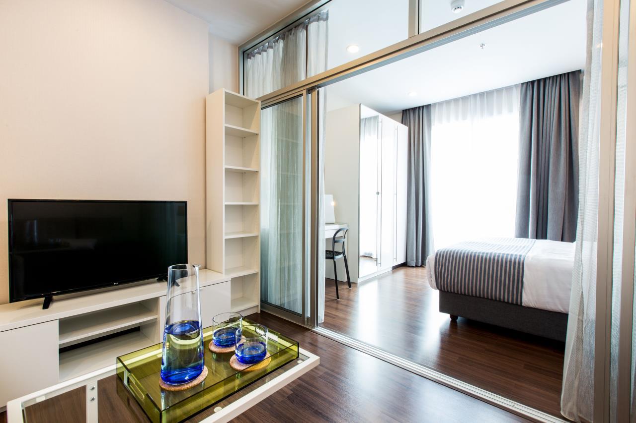 Piri Property Agency's Studio bedrooms Condominium  on 21 floor For Rent Studio 8