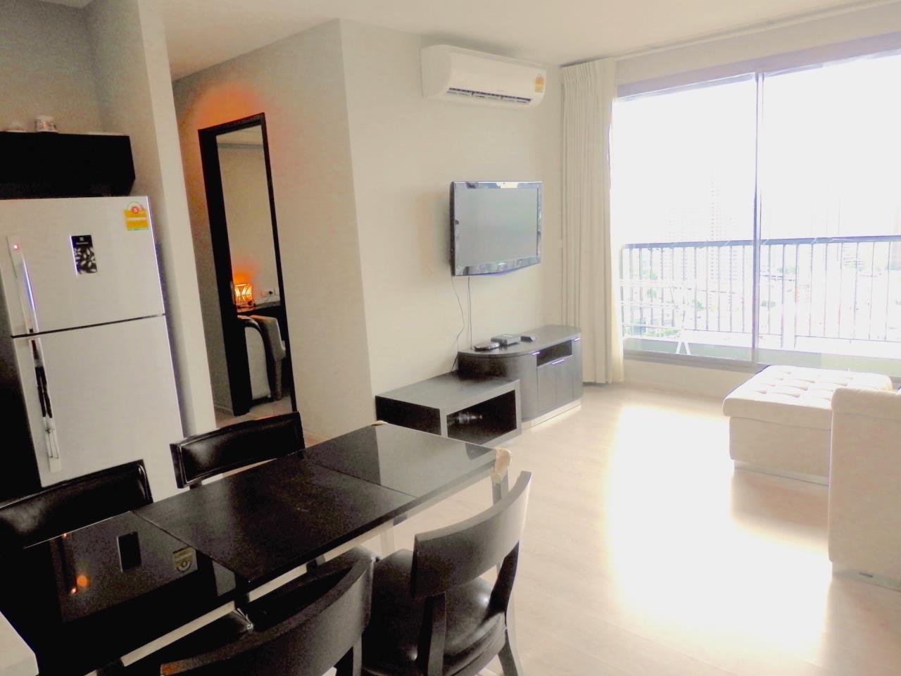 Piri Property Agency's 2 bedrooms Condominium  on 28 floor For Rent 2 1