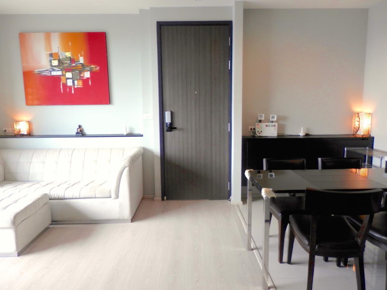 Piri Property Agency's 2 bedrooms Condominium  on 28 floor For Rent 2 6
