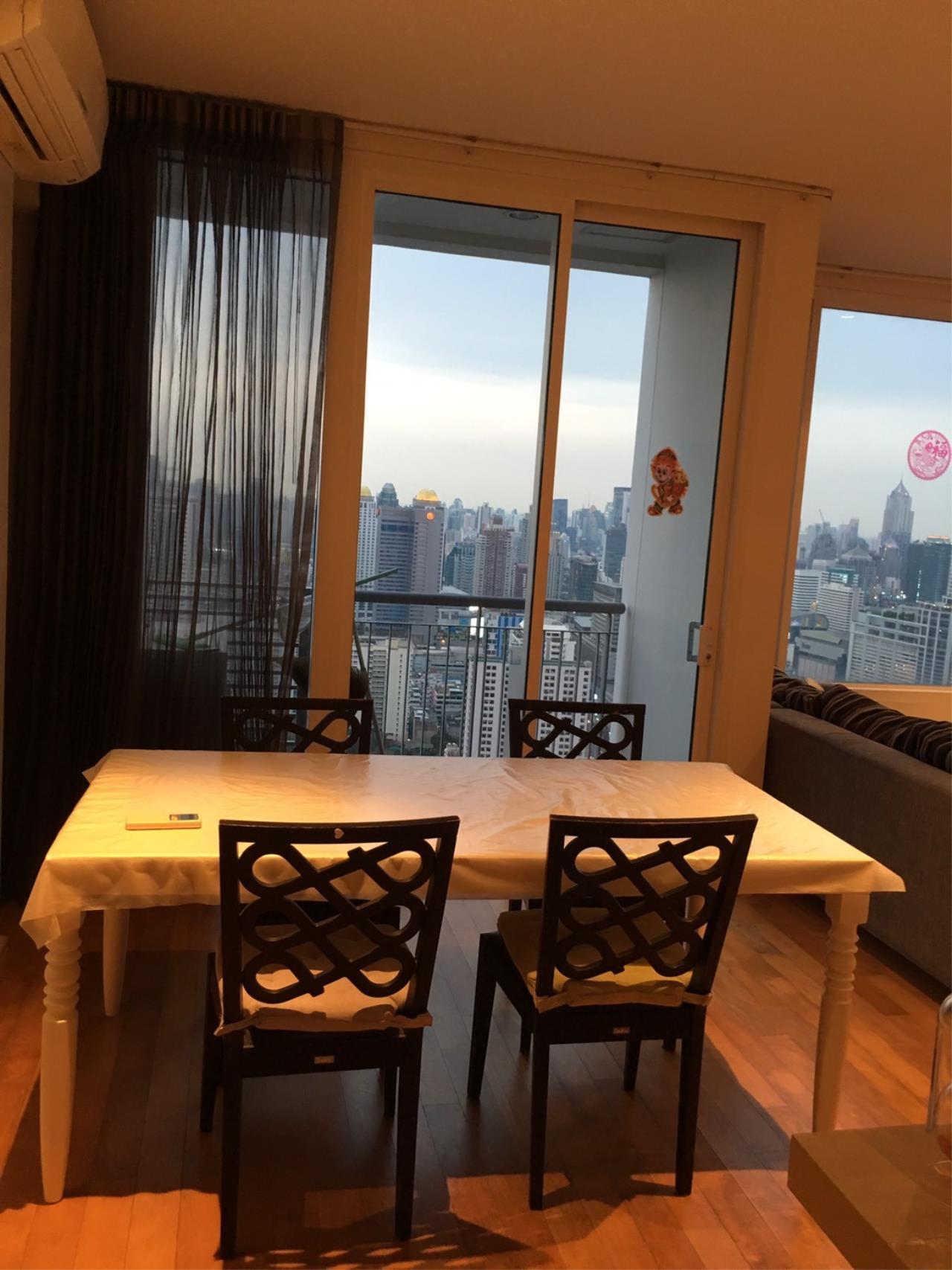 Piri Property Agency's 2 bedrooms Condominium  on 43 floor For Rent 2 5
