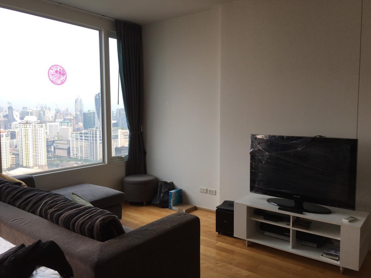 Piri Property Agency's 2 bedrooms Condominium  on 43 floor For Rent 2 9
