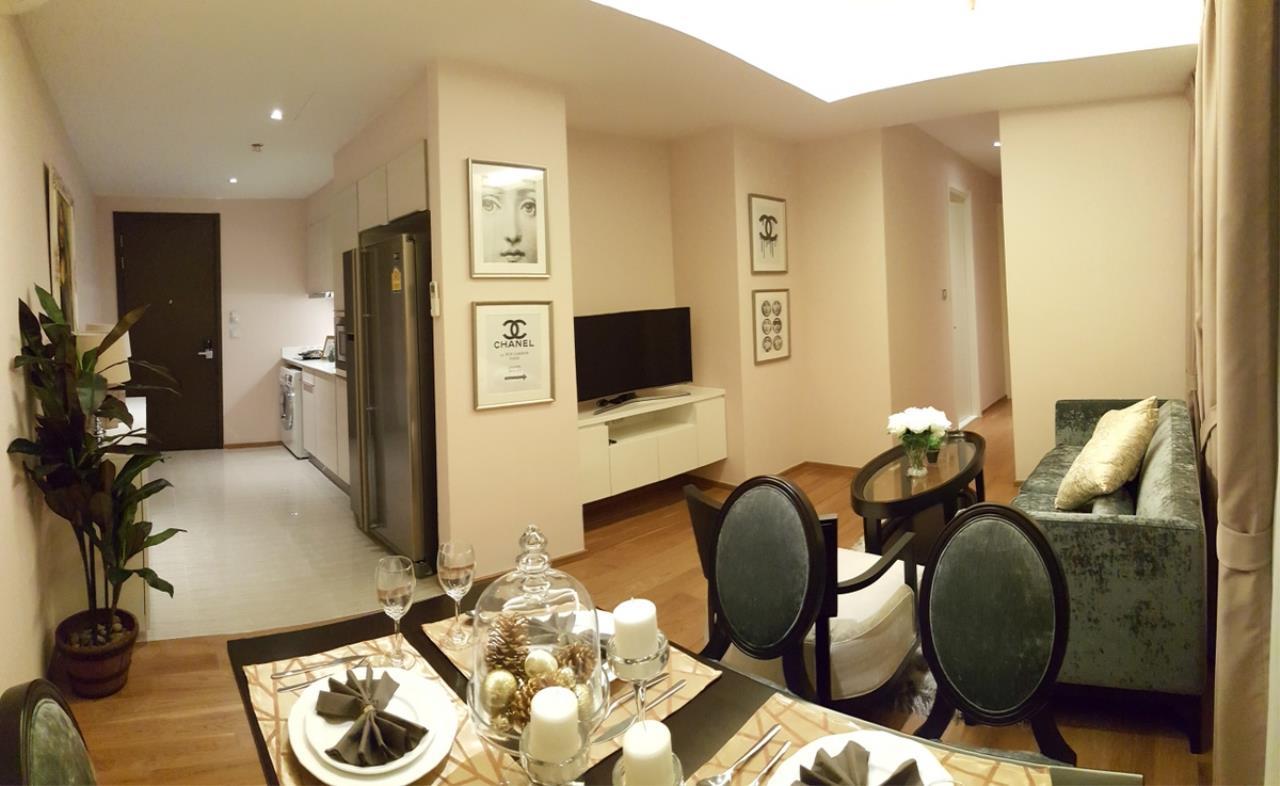Piri Property Agency's 2 bedrooms Condominium  on 18 floor For Rent 2 1