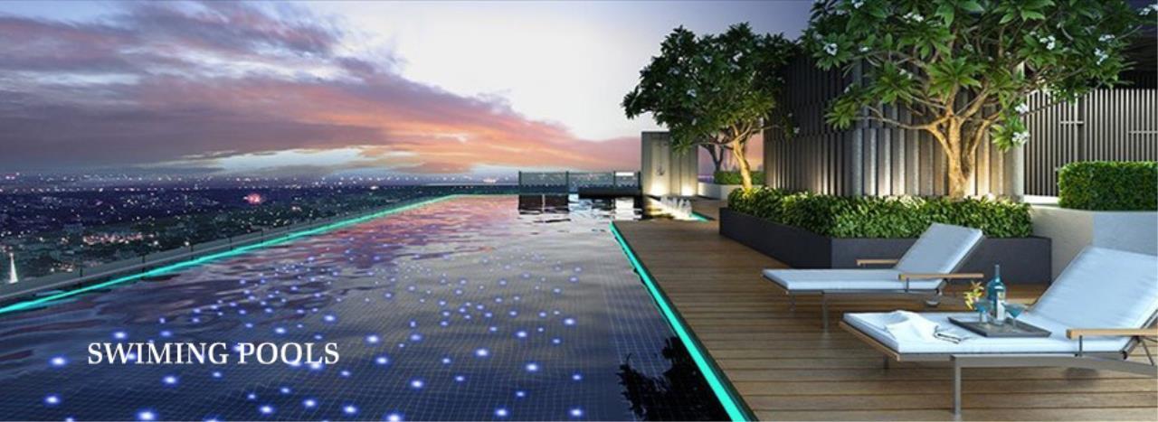 Piri Property Agency's 2 bedrooms Condominium  on 18 floor For Rent 2 8