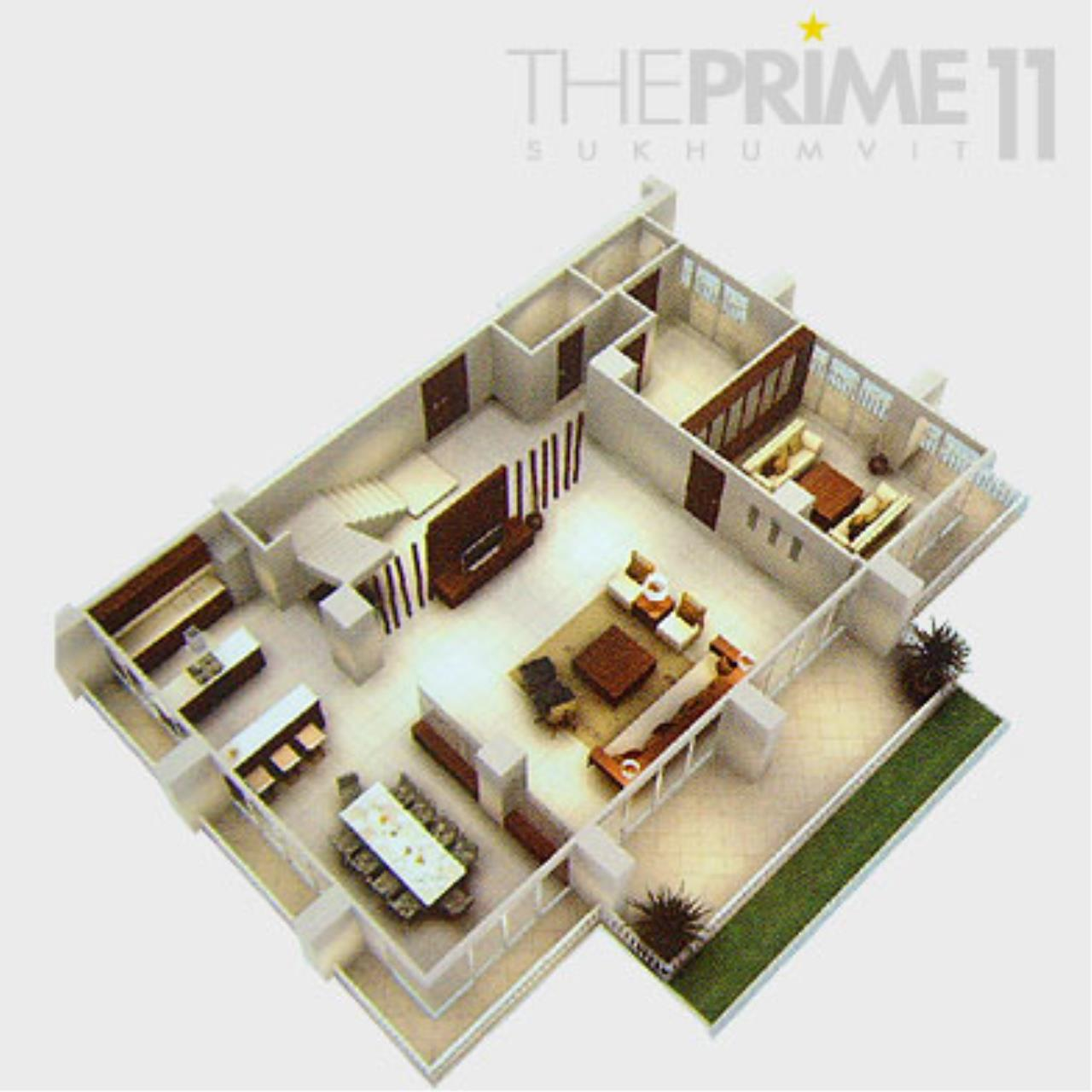 Piri Property Agency's 4 bedrooms Condominium  on 30 floor For Sale 4 12