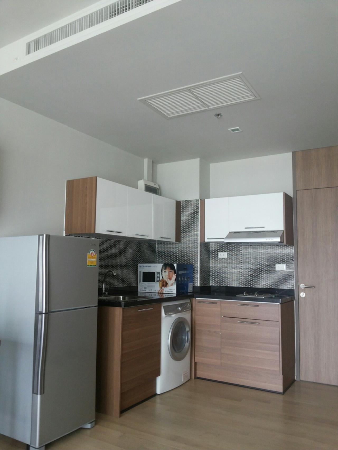 Piri Property Agency's studio bedrooms Condominium  on 17 floor For Rent studio 3