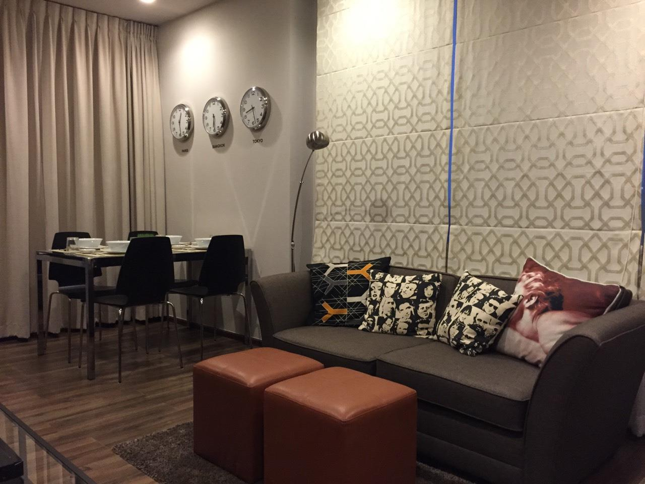 Piri Property Agency's one bedroom Condominium  on 4C floor For Rent 1 8