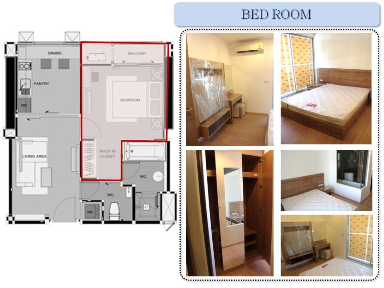 Piri Property Agency's one bedroom Condominium  on 14 floor For Rent 1 2