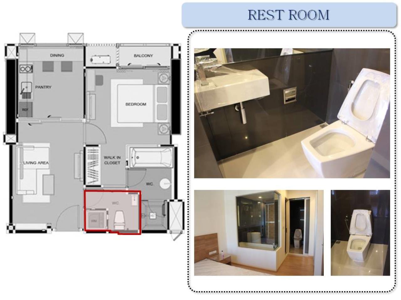 Piri Property Agency's one bedroom Condominium  on 14 floor For Rent 1 4
