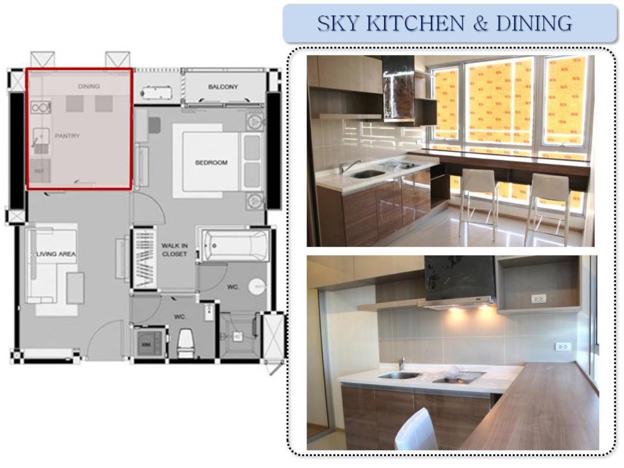 Piri Property Agency's one bedroom Condominium  on 14 floor For Rent 1 5