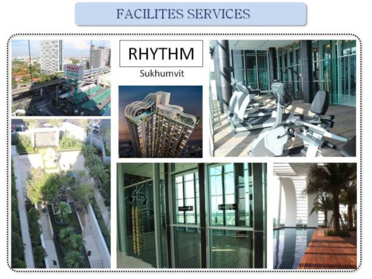 Piri Property Agency's one bedroom Condominium  on 14 floor For Rent 1 7
