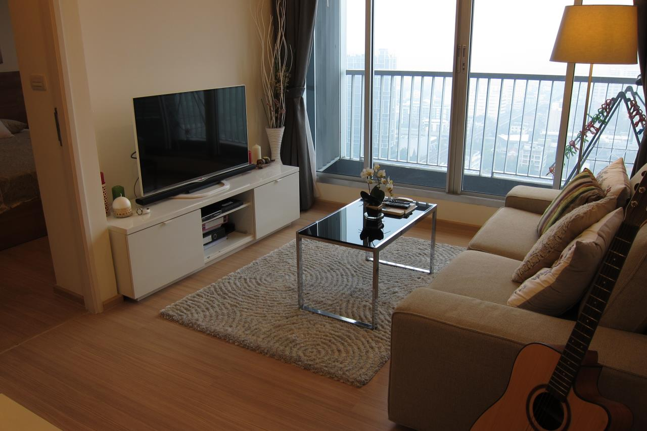 Piri Property Agency's one bedroom Condominium  on 31 floor For Rent 1 11