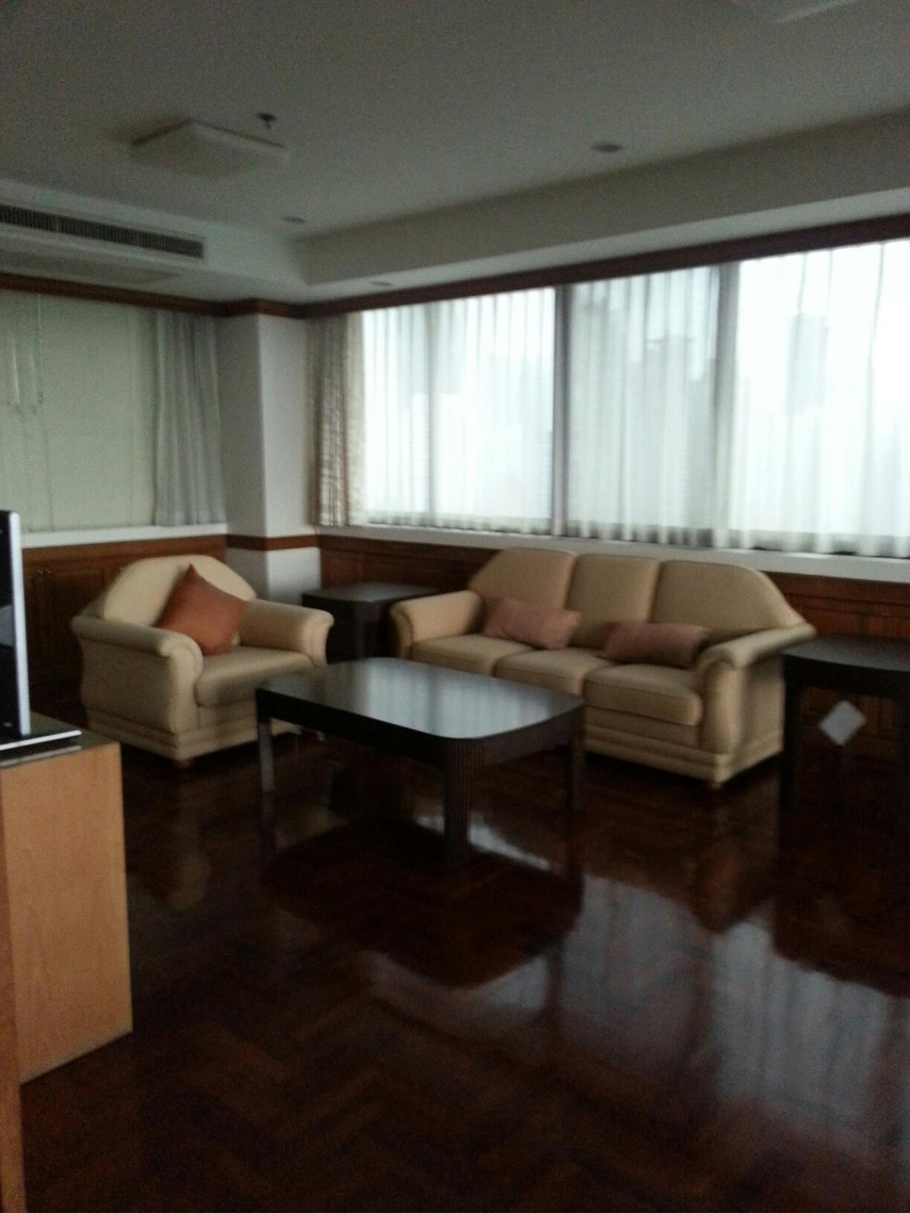 Piri Property Agency's 3+1 bedrooms Condominium  on 23 floor For Rent 3+1 4