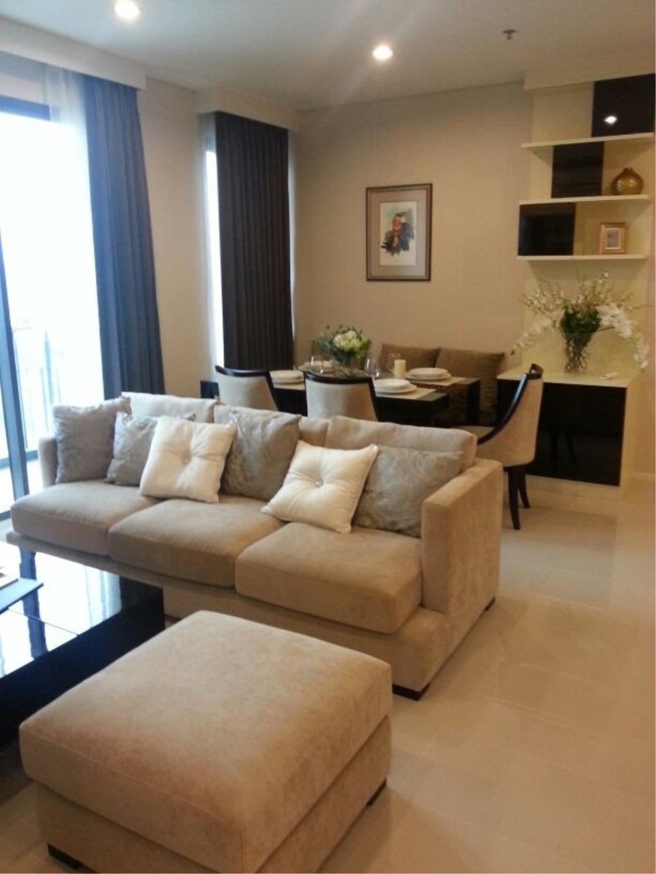 Piri Property Agency's 2 bedrooms Condominium  on 26 floor For Rent 2 11