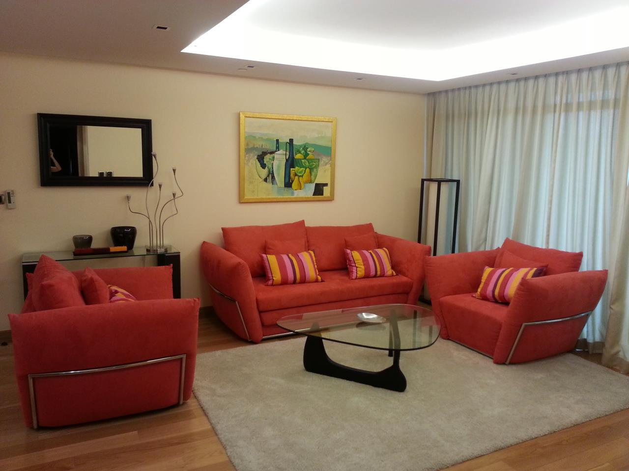 Piri Property Agency's one bedroom Condominium  on 18 floor For Rent 1 2