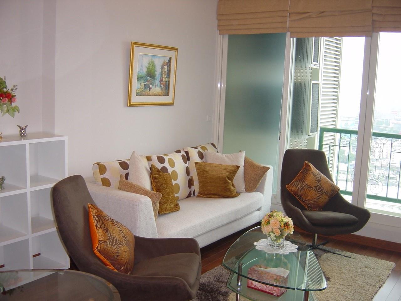 Piri Property Agency's one bedroom Condominium  on 23 floor For Rent 1 1