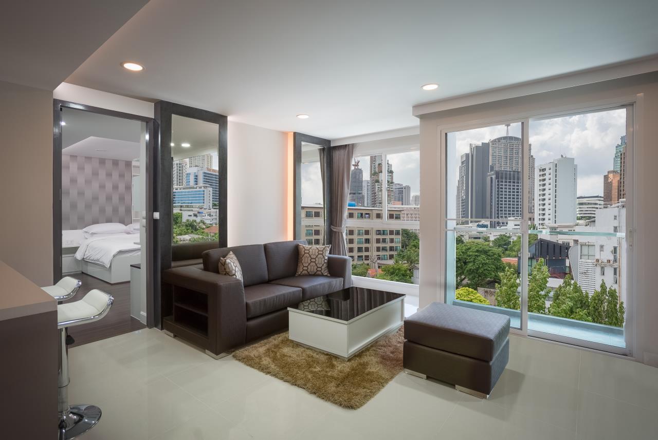 Piri Property Agency's one bedroom Condominium  on 2 floor For Rent 1 5
