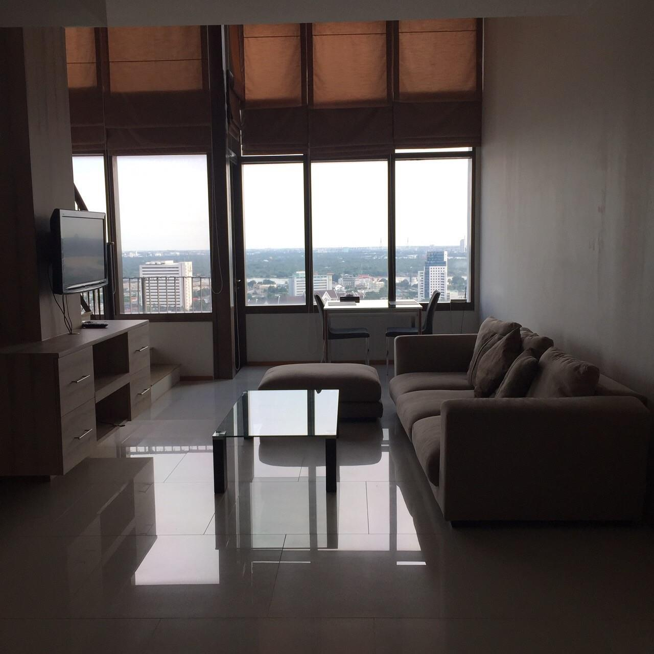 Piri Property Agency's 1 Duplex bedrooms Condominium  on high floor For Rent 4