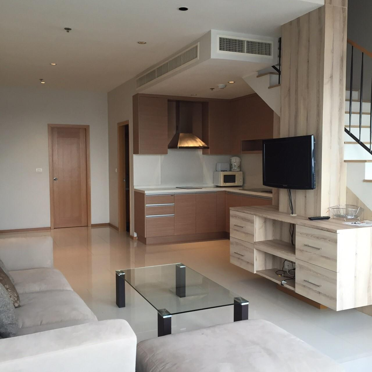Piri Property Agency's 1 Duplex bedrooms Condominium  on high floor For Rent 6