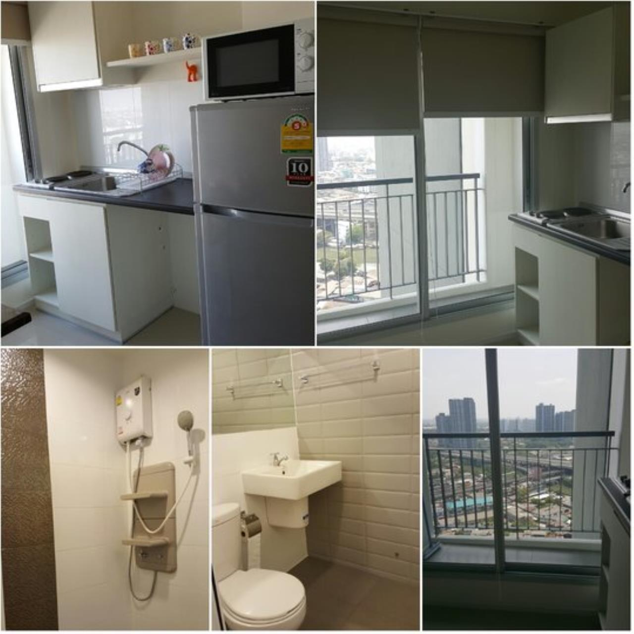 Piri Property Agency's one bedroom Condominium  on 27 floor For Rent 1 4