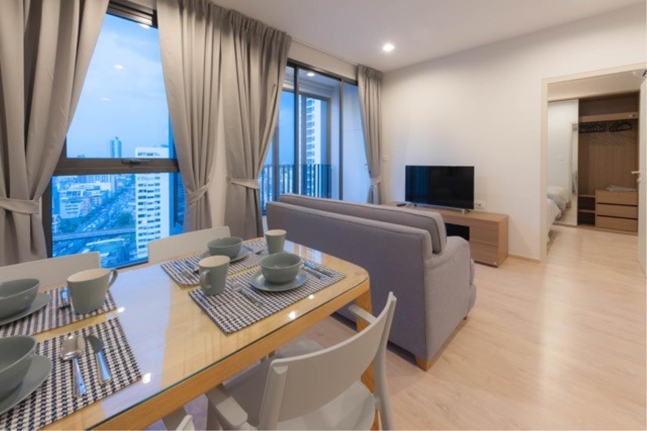 Piri Property Agency's 2 bedrooms Condominium  on 19 floor For Rent 2 4