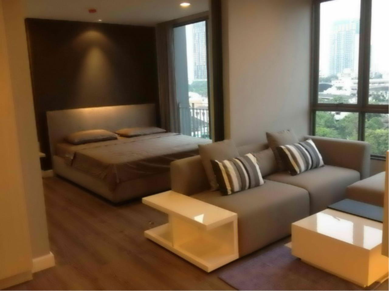 Piri Property Agency's one bedroom Condominium  on 8 floor For Rent 1 12