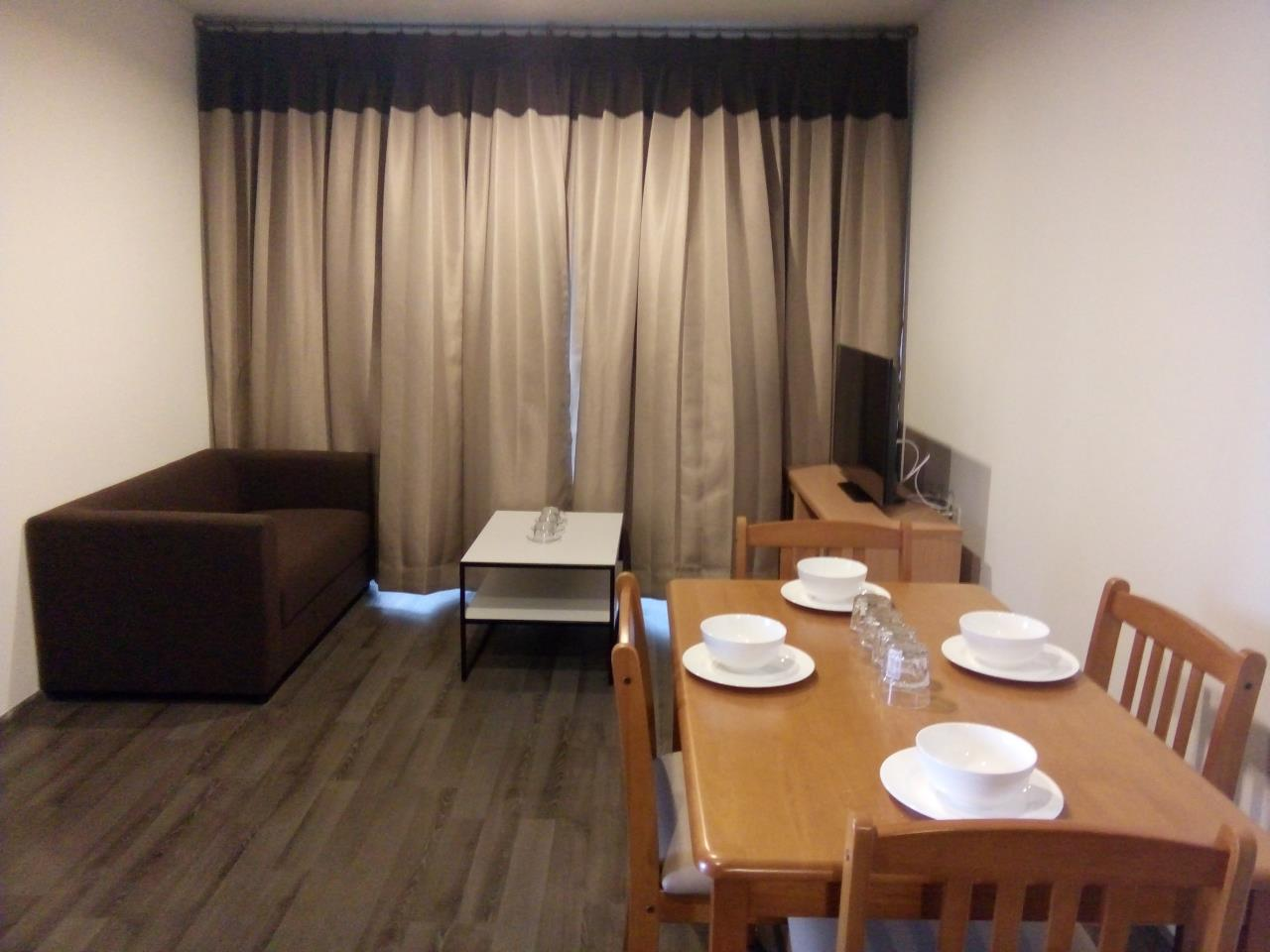 Piri Property Agency's 2 bedrooms Condominium  on 19 floor For Rent 2 6