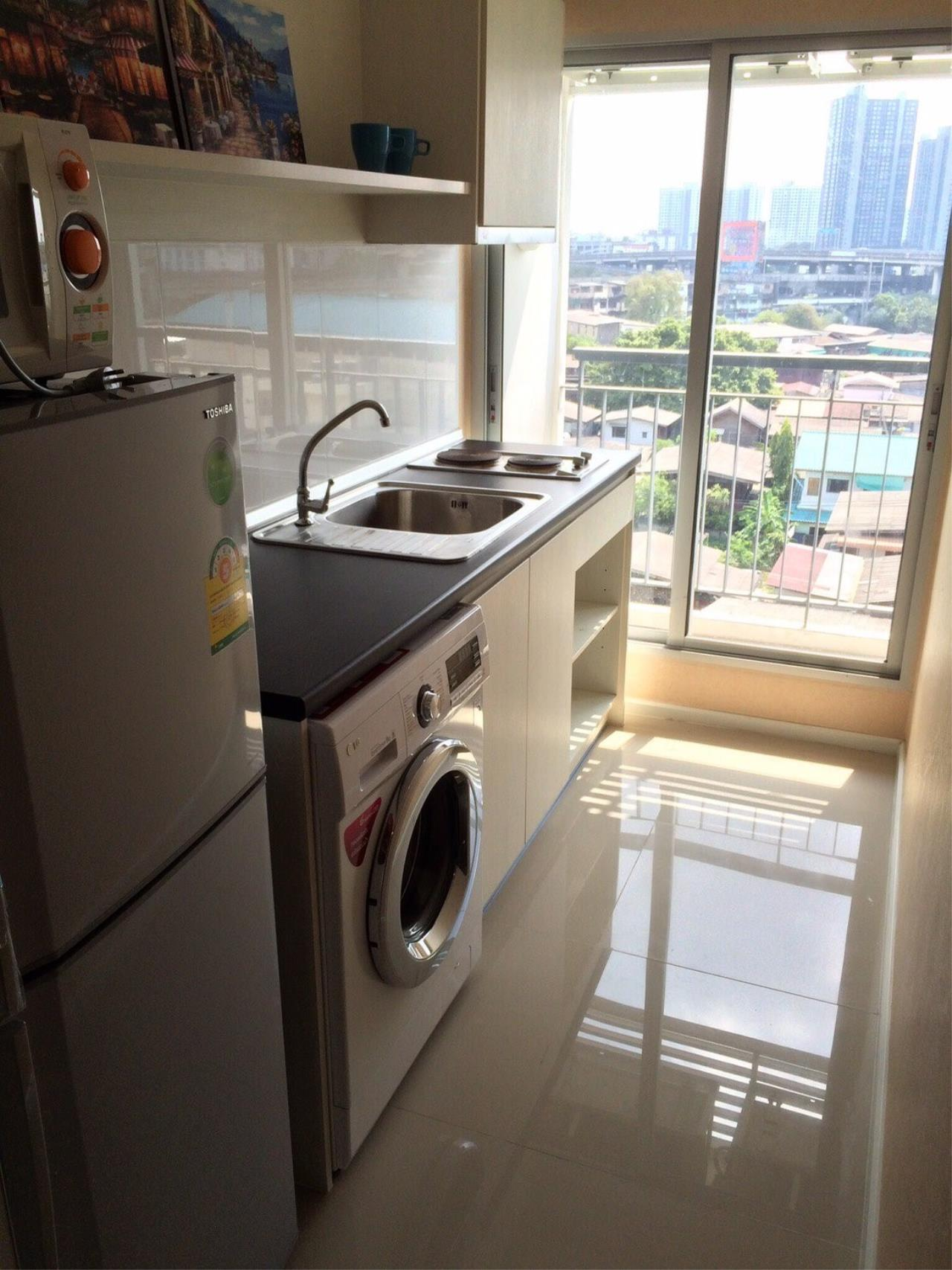 Piri Property Agency's one bedroom Condominium  on 6 Building S floor For Rent 1 4