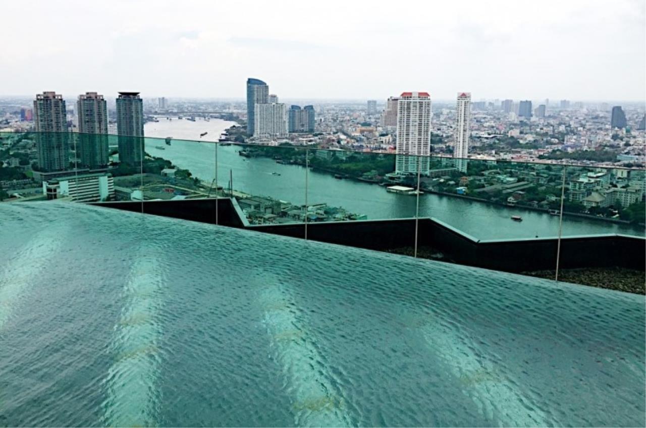 Piri Property Agency's one bedroom Condominium  on 9 floor For Rent 1 8