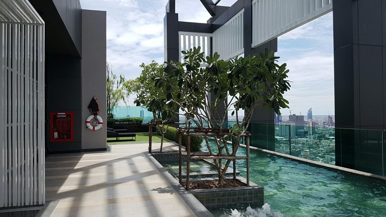 Piri Property Agency's one bedroom Condominium  on 9 floor For Rent 1 7
