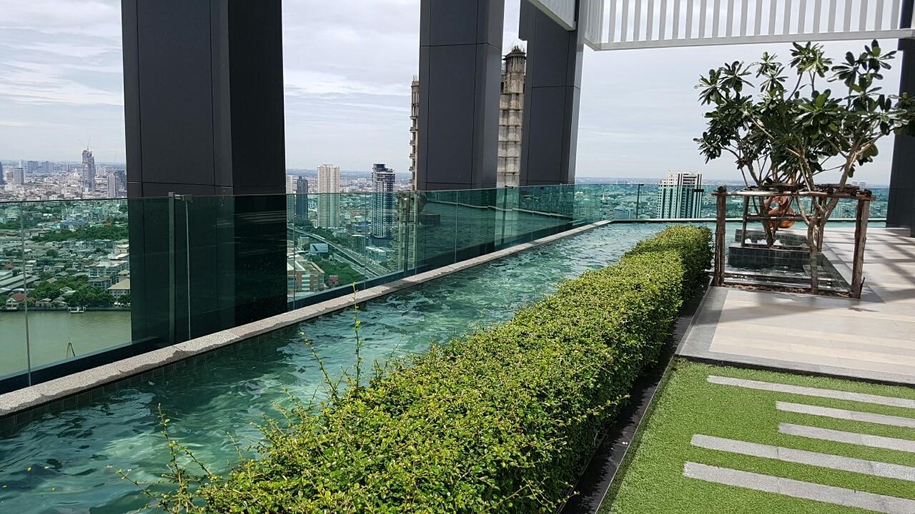 Piri Property Agency's one bedroom Condominium  on 9 floor For Rent 1 9