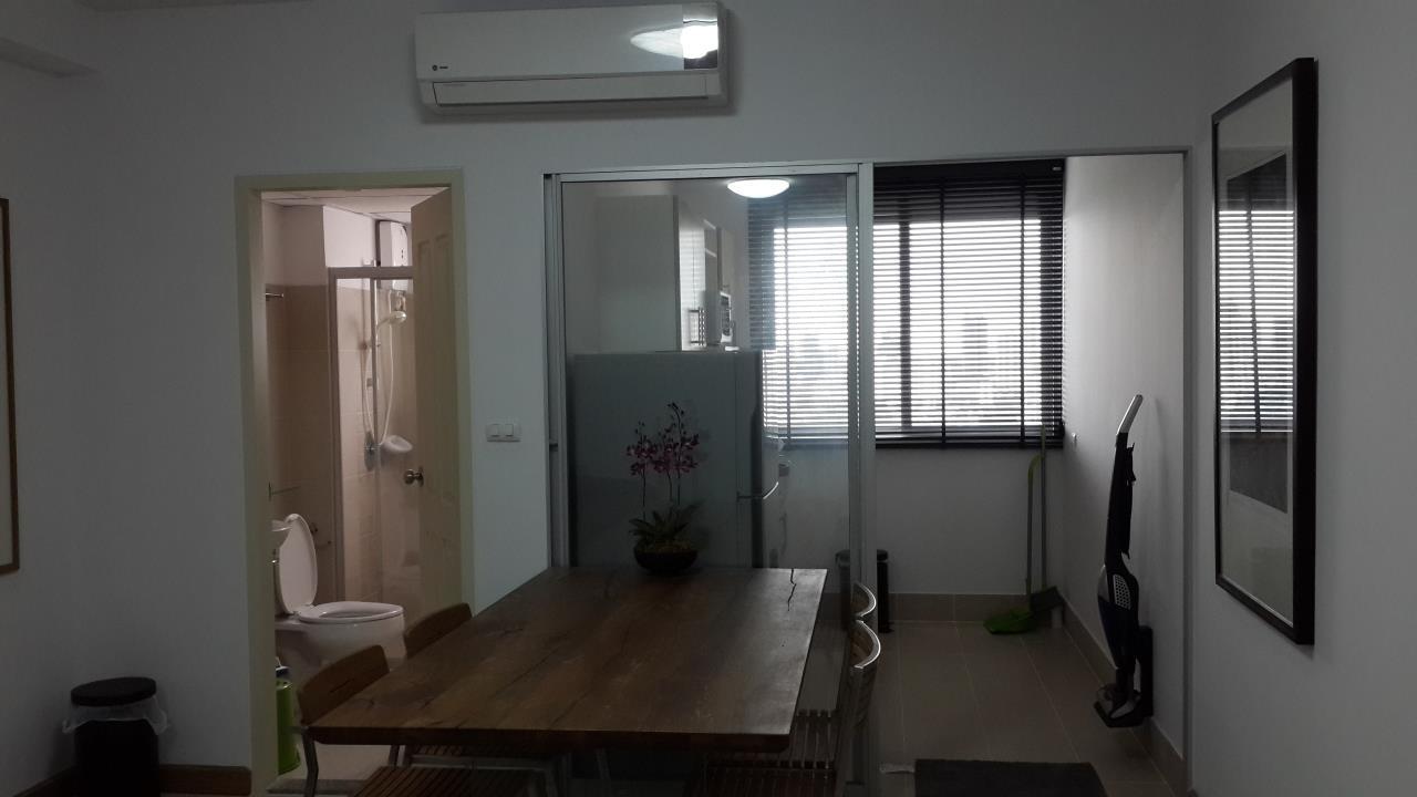 Piri Property Agency's one bedroom Condominium  on 24 floor For Rent 1 2