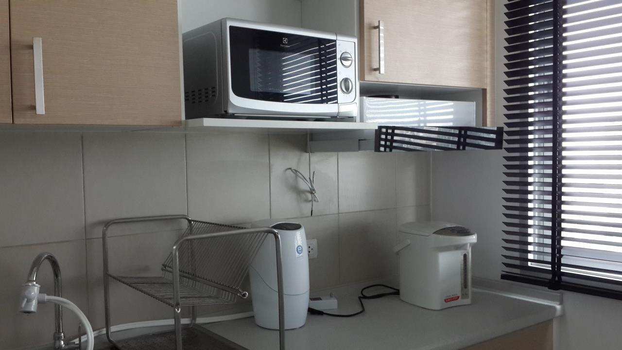 Piri Property Agency's one bedroom Condominium  on 24 floor For Rent 1 4