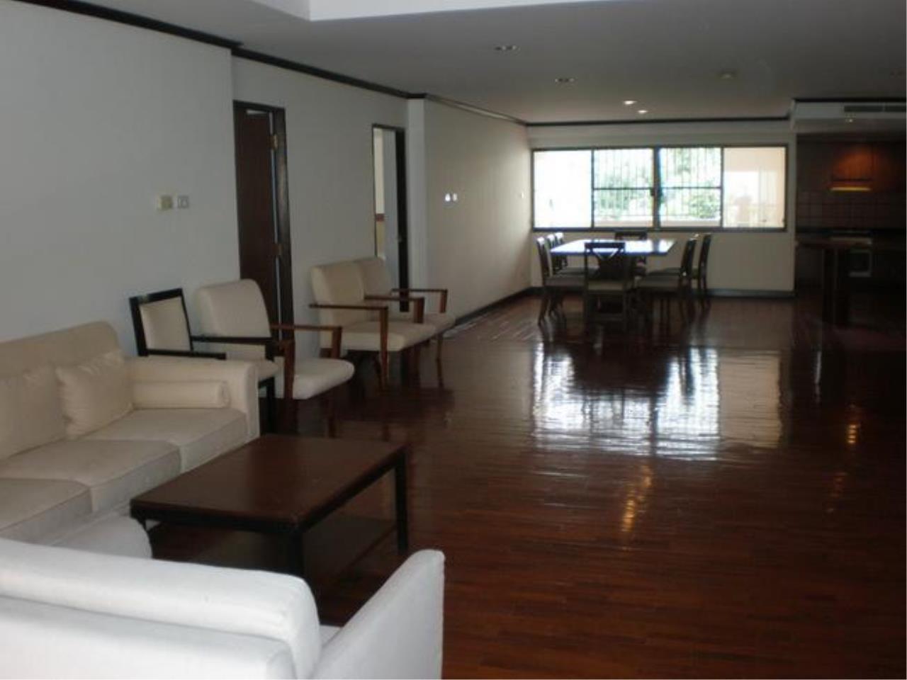 Piri Property Agency's 3 bedrooms Condominium  on 2 floor For Rent 3 4
