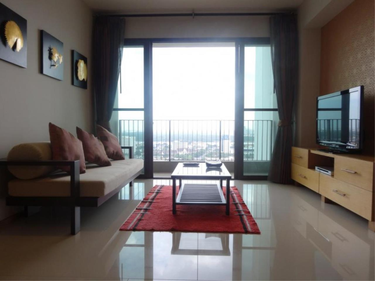 Piri Property Agency's one bedroom Condominium  on 9701 floor For Rent 1 12