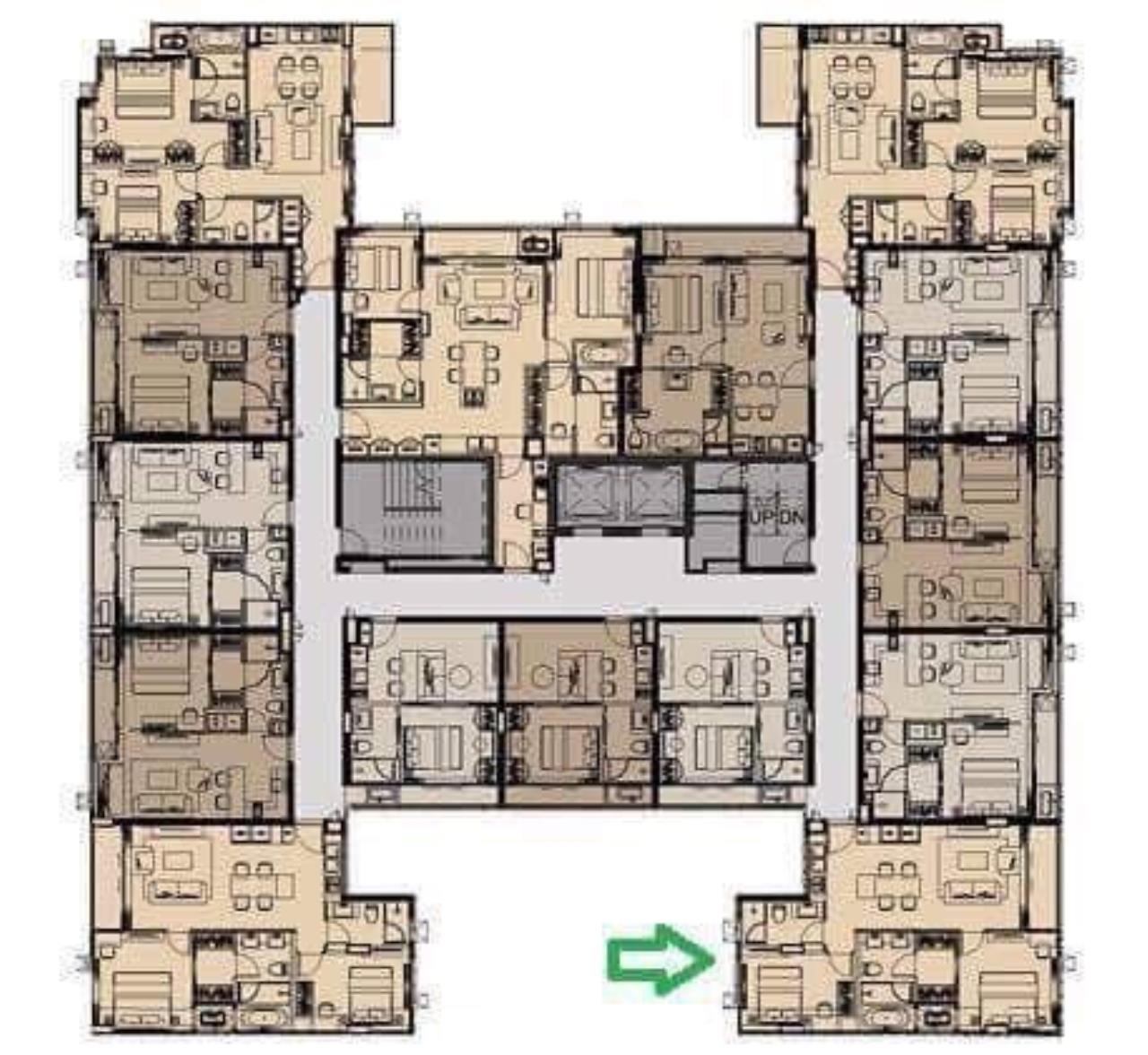 Piri Property Agency's 2 bedrooms CondominiumFor Rent 9