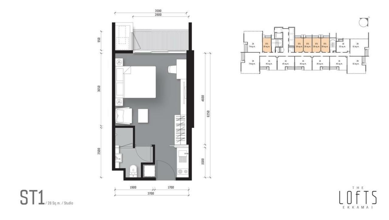 Piri Property Agency's 0 bedrooms Condominiumon 9 floor For Sale 2