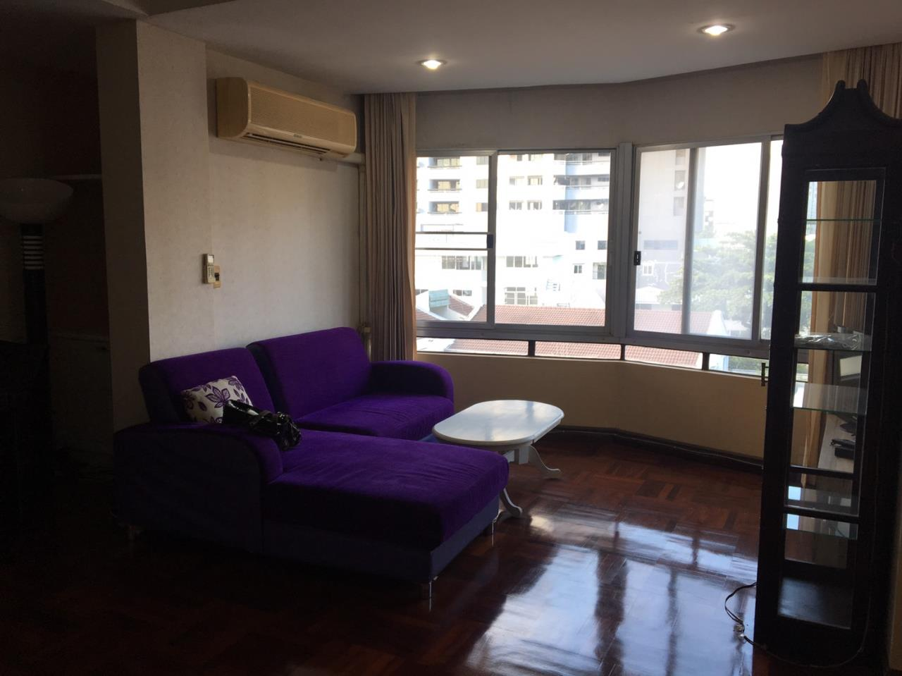 Piri Property Agency's 2 bedrooms Condominiumon 4 floor For Rent 1