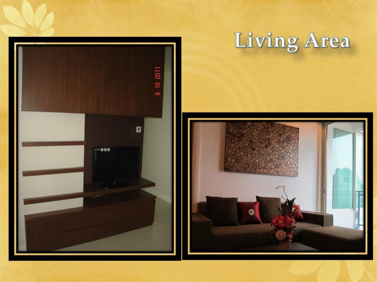 Piri Property Agency's 2 bedrooms Condominiumon 18 floor For Rent 3