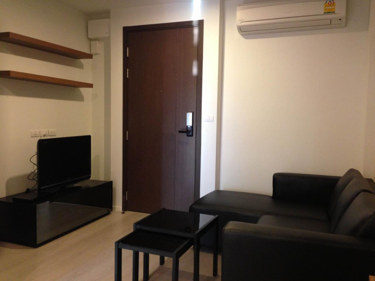 Piri Property Agency's one bedroom Condominiumon 8 floor For Rent 3